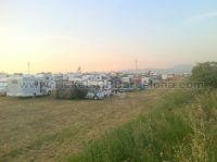 Parking CampingCar area <br /> Spanish GP Barcelona F1