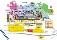 Map Circuit de Barcelona-Catalunya <br>  location PARKING CampingCar Catalunya Circuit<br> F1 ticket Grand Prix Spain CampingCar-Parking
