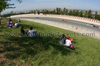 General Admission area corner 3 <br> F1 tickets GP Barcelona <br> Circuit de Barcelona-Catalunya