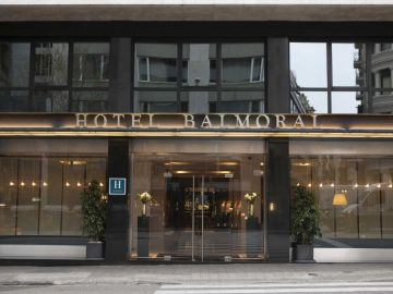 4 stars Hotel Balmoral,  downtown Barcelona <br> Spanish Formula One Grand Prix circuit Montmelo