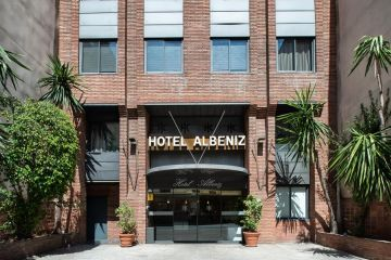 Three stars Hotel Barcelona F1 <br />Spanish Formula-1 race GP of Spain <br />Hotel HC Albéniz*** Barcelona