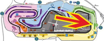 F1 tickets GP Barcelona <br>  Grandstand H Montmelo <br> Spanish Formula 1 Grand Prix tickets