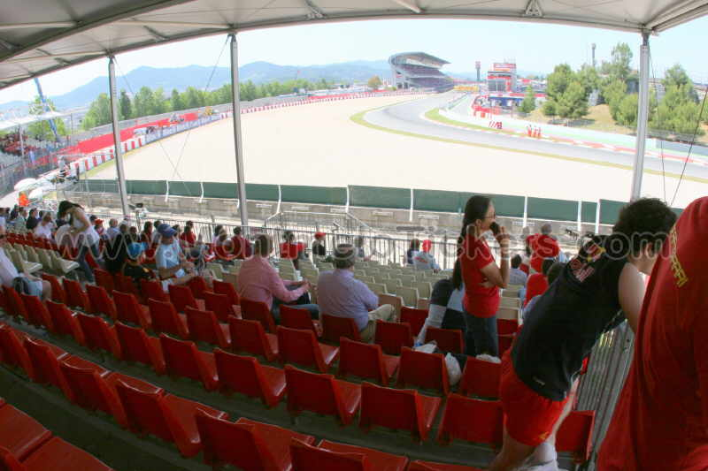 Grandstand i, F1 GP Spain - Official Tickets GP Barcelona