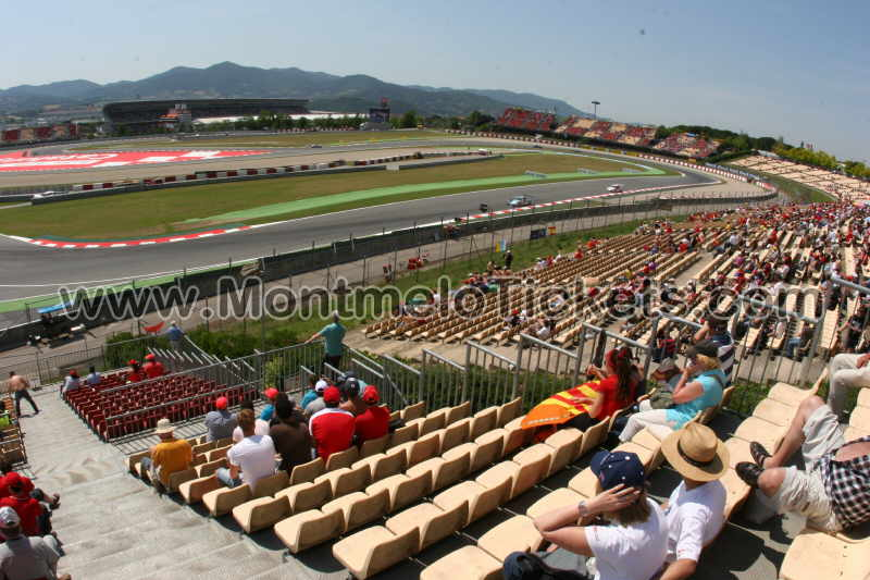 grandstand c circuit de catalunya tickets gp barcelona. Black Bedroom Furniture Sets. Home Design Ideas
