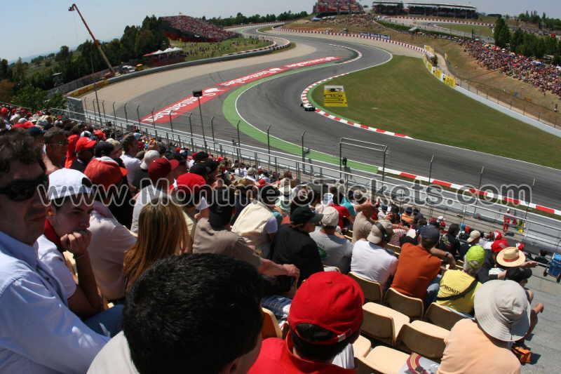 Grandstand-F, Circuit de Catalunya - Tickets GP Barcelona
