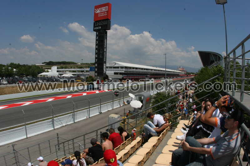 grandstand j circuit de catalunya tickets gp barcelona. Black Bedroom Furniture Sets. Home Design Ideas