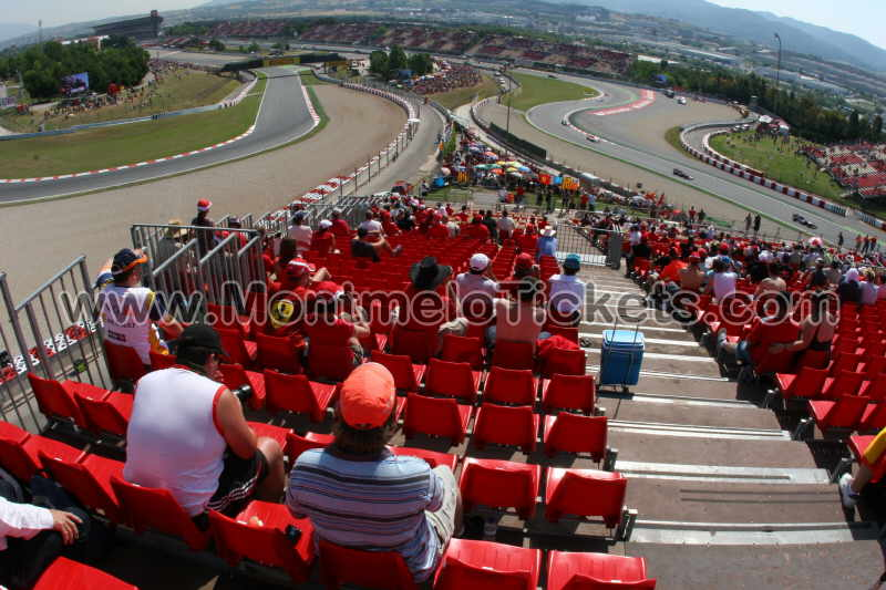 grandstand l circuit de catalunya tickets gp barcelona. Black Bedroom Furniture Sets. Home Design Ideas