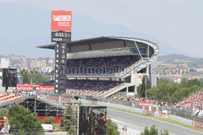 Grandstand-D MAIN grandstand Barcelona - Tickets GP Barcelona