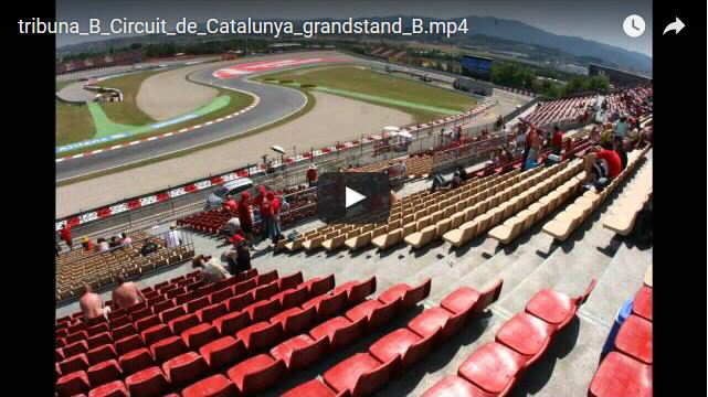 Grandstand B Montmelo