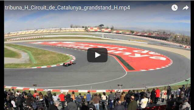 Grandstand H Montmelo