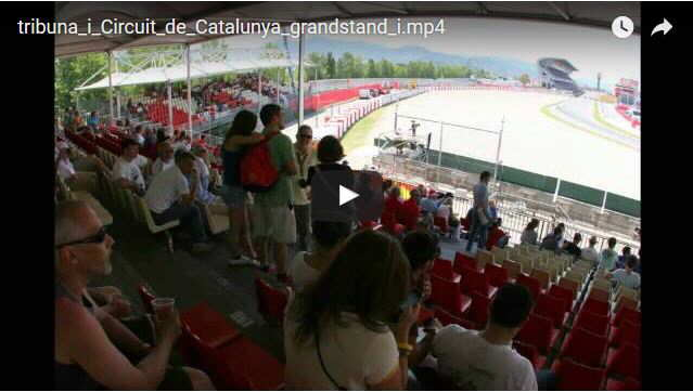Grandstand i Montmelo