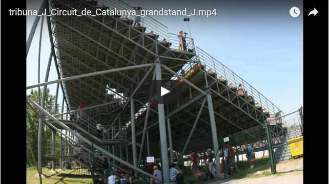 Grandstand J Montmelo