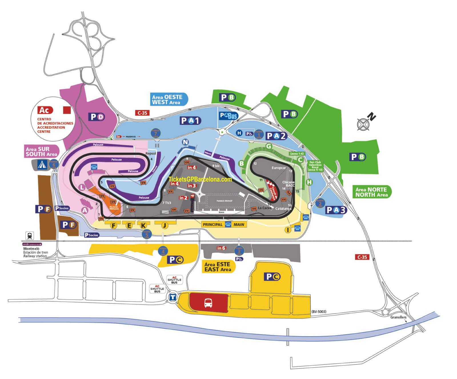 Circuit De Catalunya Montmelo Barcelona Tickets Gp Barcelona Com Official Ticketing F1 Motogp